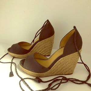 Splendid Dara Wedge Pump Sandal (Size 8.5)